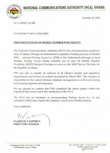 Ghana - NCA - Testimonial